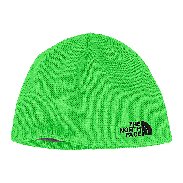 The North Face Youth Bones Kids Hat, Krypton Green-TNF Black, 600