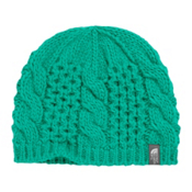 The North Face Youth Cable Minna Kids Hat, Kokomo Green, medium