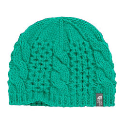 The North Face Youth Cable Minna Kids Hat, Kokomo Green, 256