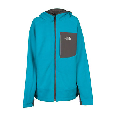 The North Face Chimborazo Kids Hoodie, Enamel Blue, viewer