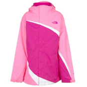 The North Face Mountain View Triclimate Girls Ski Jacket, Luminous Pink, medium