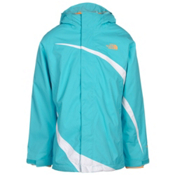 The North Face Mountain View Triclimate Girls Ski Jacket, Fortuna Blue, medium