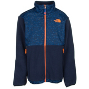 The North Face Denali Boys Jacket, Recycled Cosmic Blue Heather, medium