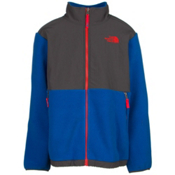 The North Face Denali Boys Jacket, Recycled Monster Blue-Graphite, medium