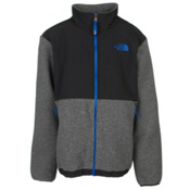 The North Face Denali Boys Jacket, Recycled Charcoal Grey Heather, medium