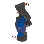 The North Face Youth Revelstroke Etip Kids Gloves, Monster Blue-Asphalt Grey, medium