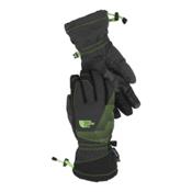 The North Face Youth Revelstroke Etip Kids Gloves, Asphalt Grey-TNF Black, medium