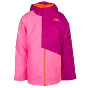 The North Face Insulated Casie Girls Ski Jacket, Gem Pink, medium