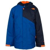 The North Face Calisto Insulated Boys Ski Jacket, Monster Blue, medium
