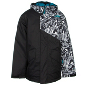 The North Face Calisto Insulated Boys Ski Jacket, TNF Black, medium
