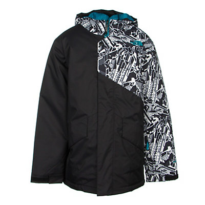 The North Face Calisto Insulated Boys Ski Jacket, Monster Blue, viewer