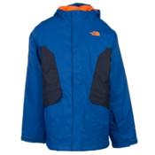 The North Face Boundary Triclimate Boys Ski Jacket, Monster Blue, medium