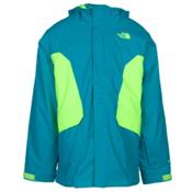 The North Face Boundary Triclimate Boys Ski Jacket, Enamel Blue, medium