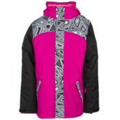 The North Face Abbit Triclimate Girls Ski Jacket, Luminous Pink, medium