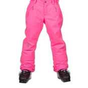 The North Face Freedom Insulated Girls Ski Pants, Gem Pink, medium