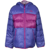 The North Face Reversible Moondoggy Girls Ski Jacket, Starry Purple, medium