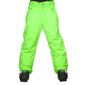 The North Face Freedom Insulated Kids Ski Pants, Safety Green, medium