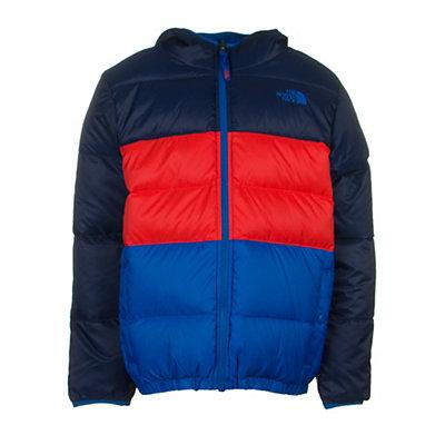 The North Face Reversible Moondoggy Boys Ski Jacket, Cosmic Blue, viewer