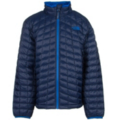The North Face ThermoBall Full Zip Boys Kids Midlayer, Cosmic Blue, medium