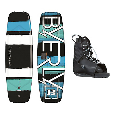Byerly Monarch Wakeboard With Hyperlite Frequency Bindings, , viewer