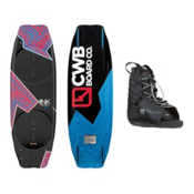 CWB Kink Wakeboard With Hyperlite Frequency Bindings, , medium