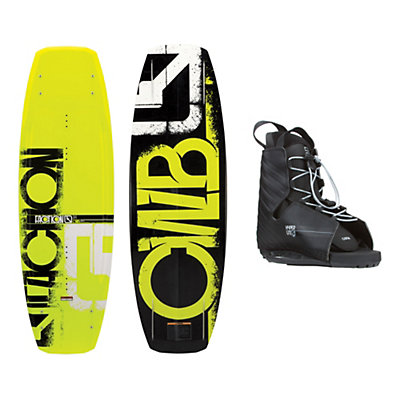 CWB Faction Wakeboard With Hyperlite Frequency Bindings, , viewer