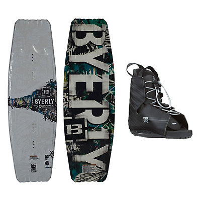 Byerly Conspiracy Wakeboard With Hyperlite Frequency Bindings, , viewer