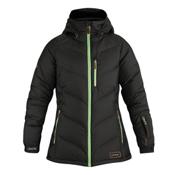 Dakine Kensington Down Womens Insulated Ski Jacket, Black, medium