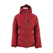 Dakine Kensington Down Womens Insulated Ski Jacket, Garnet, medium