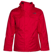 The North Face Clooney Triclimate Mens Insulated Ski Jacket, TNF Red, medium