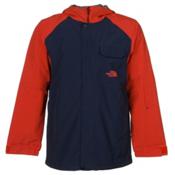 The North Face Number Eleven Mens Shell Ski Jacket, Cosmic Blue-Acrylic Orange, medium