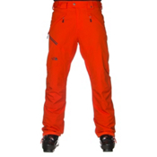 The North Face Jeppeson Stretch Insulated Mens Ski Pants, Acrylic Orange, medium
