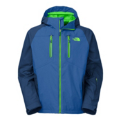 The North Face Sumner Triclimate Mens Insulated Ski Jacket, Monster Blue-Celestial Blue, medium