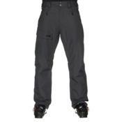 The North Face Freedom Insulated Short Mens Ski Pants, Asphalt Grey, medium