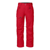 The North Face Freedom Insulated Long Mens Ski Pants, TNF Red, medium
