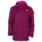 The North Face Inlux Womens Insulated Ski Jacket, Dramatic Plum Heather, medium