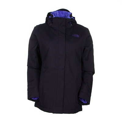 The North Face Inlux Womens Insulated Ski Jacket, Dramatic Plum Heather, viewer
