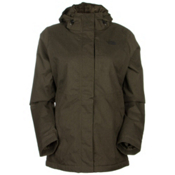 The North Face Inlux Womens Insulated Ski Jacket, New Taupe Green Heather, medium