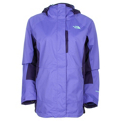 The North Face Varius Guide Womens Shell Ski Jacket, Starry Purple-Garnet Purple, medium