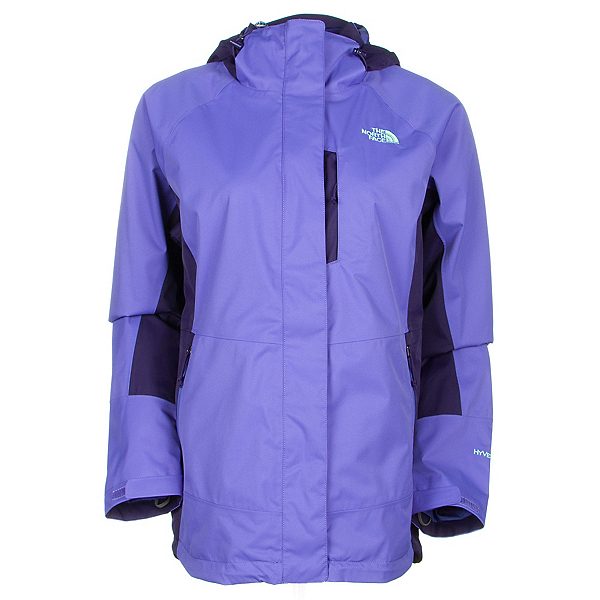 The North Face Varius Guide Womens Shell Ski Jacket, Starry Purple-Garnet Purple, 600