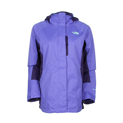 The North Face Varius Guide Womens Shell Ski Jacket, Starry Purple-Garnet Purple, viewer