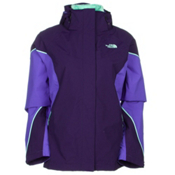The North Face Boundary Triclimate Womens Insulated Ski Jacket, Garnet Purple-Starry Purple-Su, medium