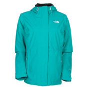 The North Face Claremont Triclimate Womens Insulated Ski Jacket, Kokomo Green-Kokomo Green, medium