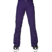 The North Face Farrows Womens Ski Pants, Garnet Purple, medium