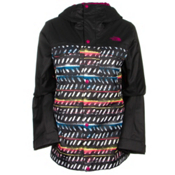 The North Face Ricas Womens Insulated Ski Jacket, TNF Black Ticky Tacky Print, medium