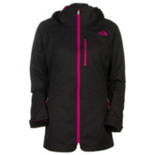 The North Face ThermoBall Snow Triclimate Womens Insulated Ski Jacket, TNF Black, medium