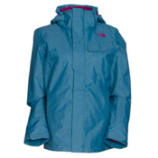 The North Face Helata Triclimate Womens Insulated Ski Jacket, Juniper Teal, medium