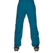 The North Face ThermoBall Snow Womens Ski Pants, Juniper Teal, medium