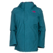 The North Face Moonstruck Womens Insulated Ski Jacket, Juniper Teal, medium