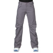 The North Face Freedom LRBC Insulated Short Womens Ski Pants, Coastal Grey, medium